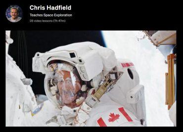 Chris Hadfield Teaches Space Exploration