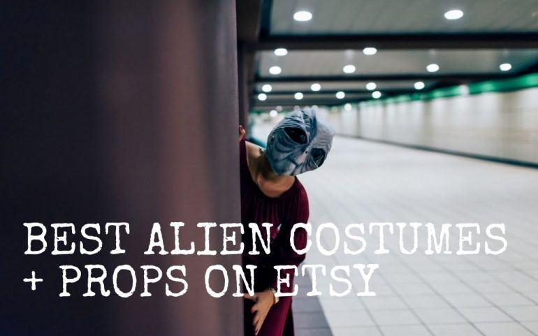 THESE ARE THE BEST DIY ALIEN COSTUMES FOR HALLOWEEN ON ETSY! || The Space Tester