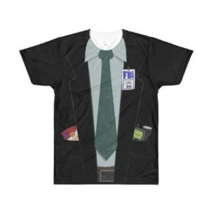 The X-Files - Fox Mulder - Halloween Costume Tee