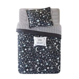 Kids Star Comforter with Complete Sheet Set