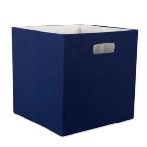 Navy Blue Storage Cubes