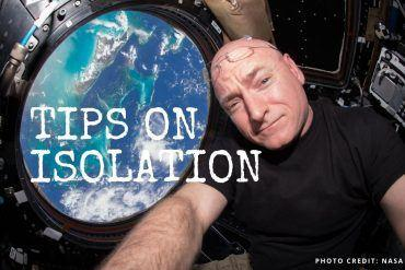 What to do in isolation? Get the best tips from astronauts! || The Space Tester || Astronaut Scott Kelly in the ISS Cupola