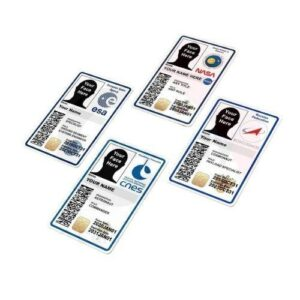 NASA / ESA / CNES / ROSCOSMOS Customizable ID Badge
