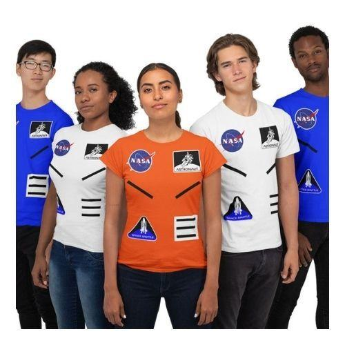 NASA Group Costume Space Suit T-Shirt