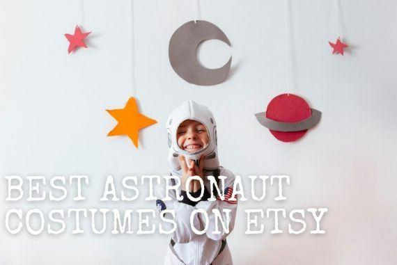 THESE ARE THE BEST DIY ASTRONAUT COSTUMES FOR HALLOWEEN ON ETSY! || The Space Tester