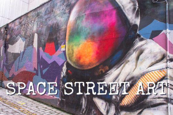 This Is The Best Space Street Art Around The World || The Space Tester