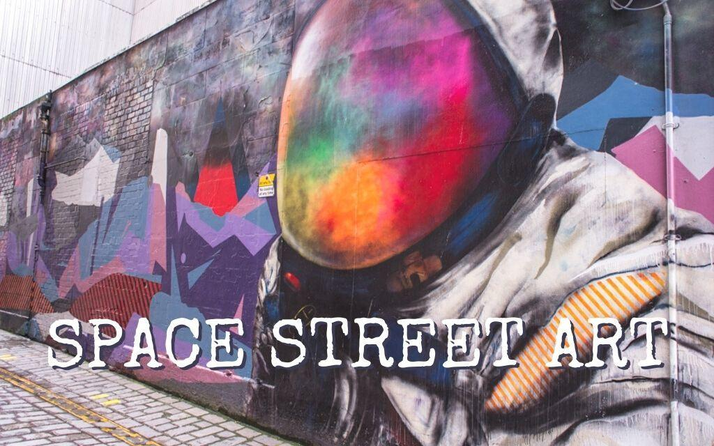 THIS IS THE BEST SPACE STREET ART AROUND THE WORLD