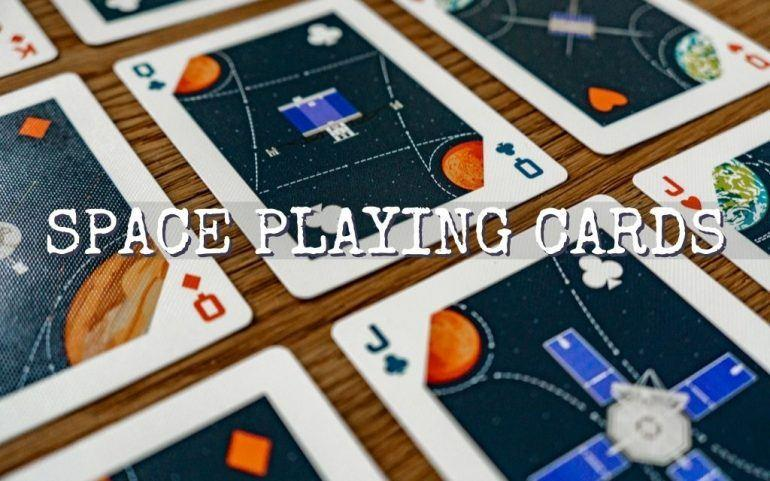 AWESOME Space Playing Cards [History of Travel] Every Space Geek Should Get!